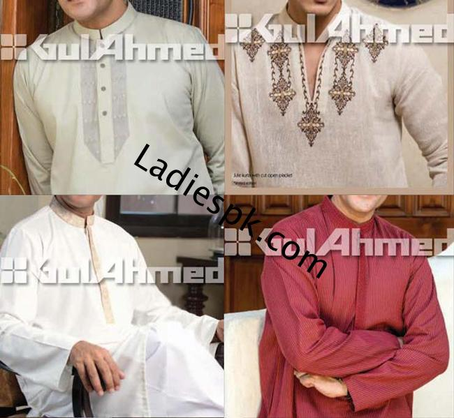 gul-ahmed-menswear-Kurta-Shalwar-Collection-in-Summer-Gents-Party