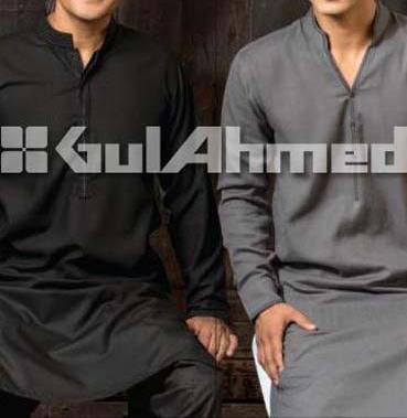 gul ahmed menswear-Kurta-Shalwar Collection in Summer