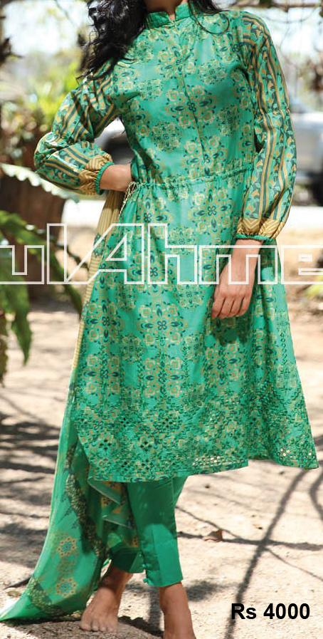 Gul Ahmed-G-Women-Special-Lawn-Collection-2013-Shirts-Prices