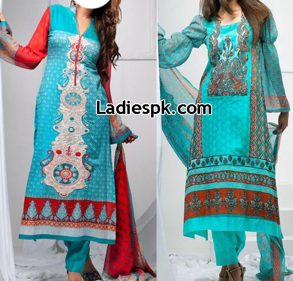 by shariq Libas Lawn Collection 2013 Price Womens Long Shalwar Kameez