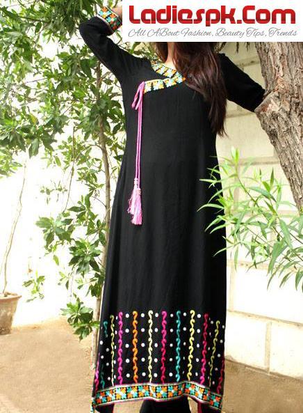 Long Kurtis Designs & Kurtas Fashion for Girls 2013 Style