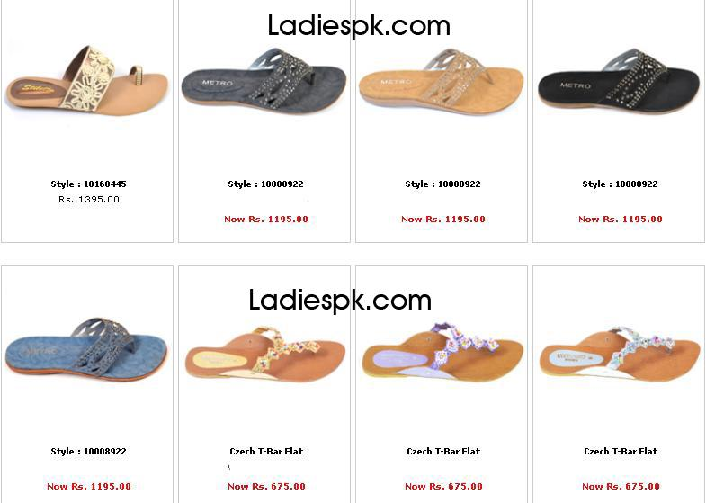 metro shoes summer collection 2013 Flat for Girls Women with Prices