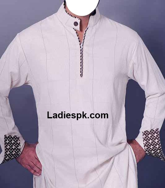 Nishat-Naqsh-Men-Shalwar-Kameez-2013 piping design salwar kameez