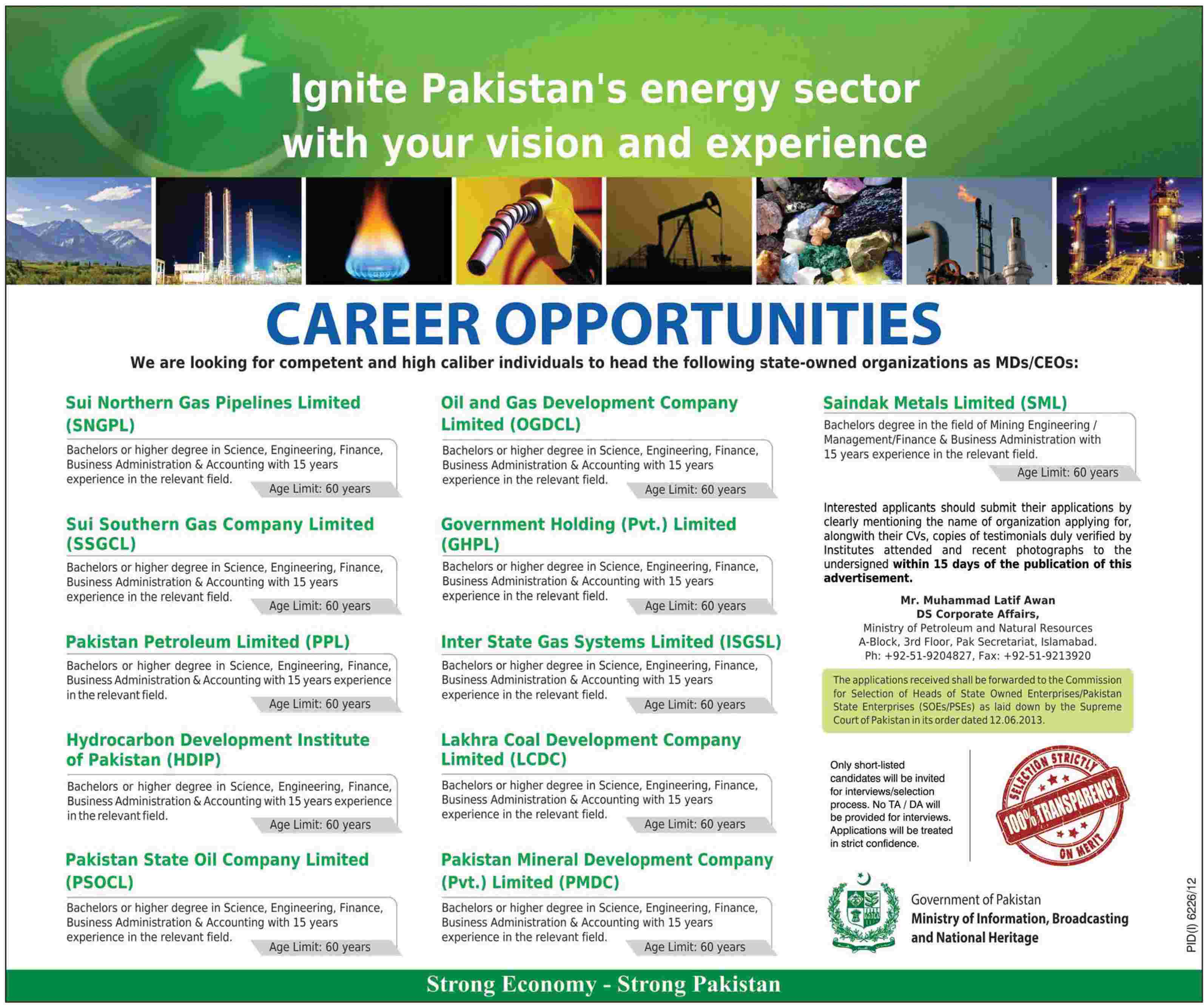 28 06 2013 013 0071  Ministry Of Information, Broadcasting & National Heritage Islamabad Jobs