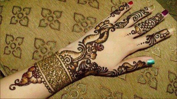 Arabic Bridal Hand Mehndi Designs for Hands 2013