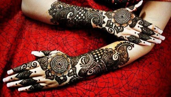 bridal Hand mehndi designs 2013
