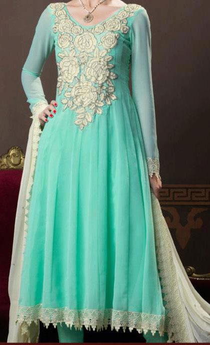 eid collection pakistani indian frocks fashion 2013 Eid Frock Collection Design 2013 for Girls in Pakistan, India