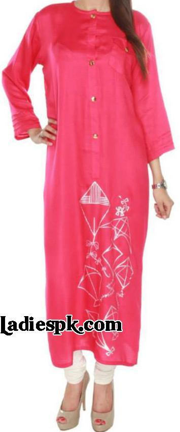 Girls kurtas designs 2013 Summer Women's Trend Long kurtis style fashion Choori Pyjama