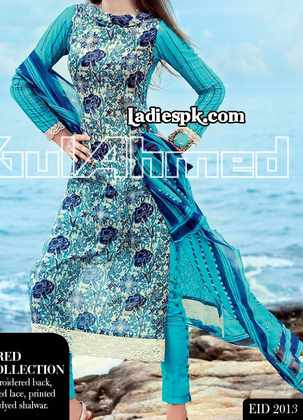 Gul-Ahmed-Women-Eid-Collection-2013-with-Price-LA-CHIFFON-4800