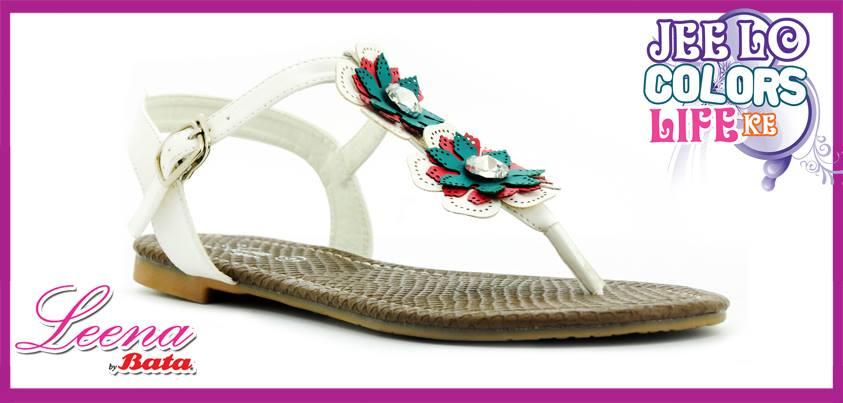 Leena by Bata Shoes Flat Slippers For Women 2013 Sandals for Girls