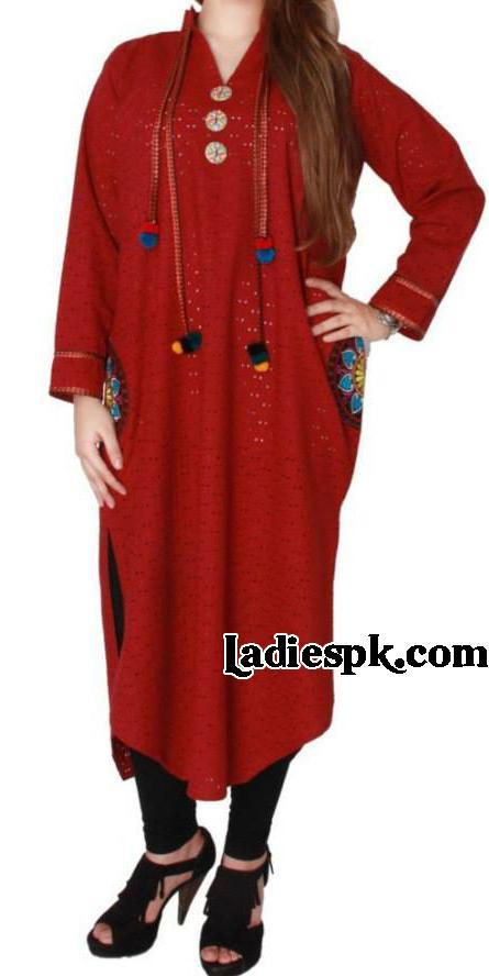 summer trends women kurta designs 2013 in pakistan Latest Girls Kurta Style Fashion 2013 in Pakistan India