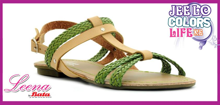 Women's Sandals Designs 2013 Summer Leena by Bata Shoes for Girls with Price 1399