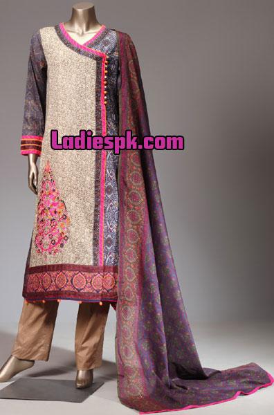 Angrakha-Style-Shirt-Kameez-Design-Kurta-Fashion-2013-for-Girls-Women