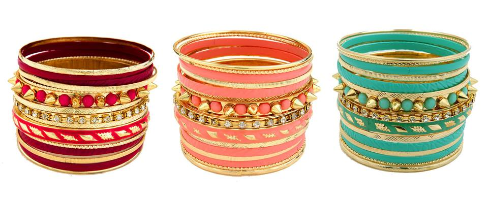 Beautiful SK Collection Colourful Bangles Eid 2013 Design with Price