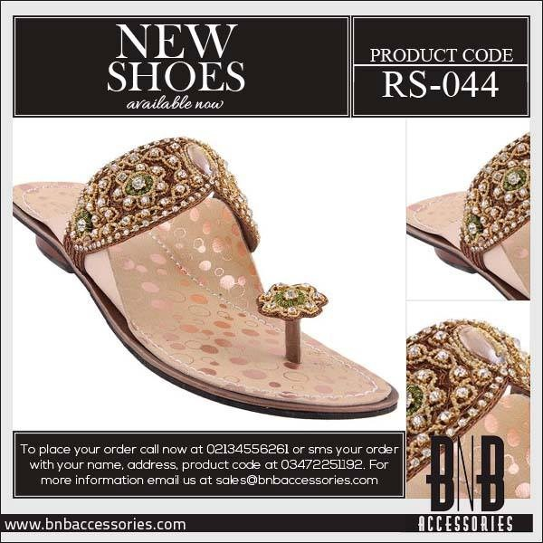 BnB-Accessories-Eid-Footwear-Collection-2013-For-Women and Girls Flat Slippers