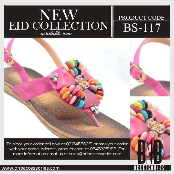 BnB-Accessories-Eid-Footwear-women flat sandals-2013-For-Girls