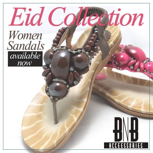 BnB-Accessories-Eid-Footwear-women flat sandals-2013