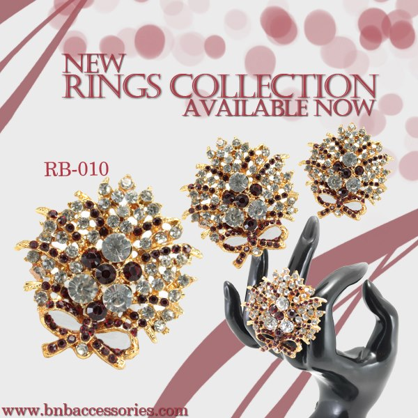 BnB Accessories Eid Rings Collection 2013 finger ring eid jewellery