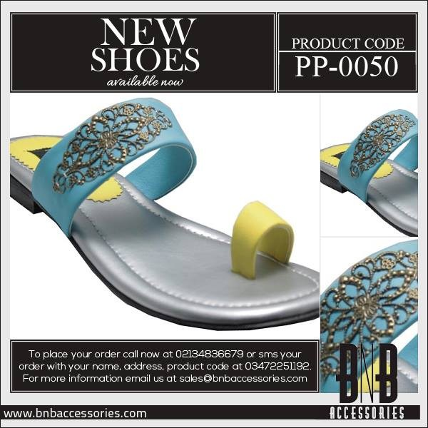 BnB-Accessories-Flat Slippers-Eid-Footwear-Collection-2013-For-Women and Girls Wedding