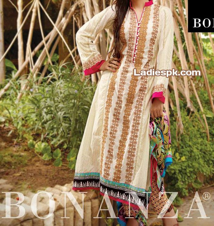 Bonanza-Eid-Collection-Lawn-2013-for-Women-trendy-shalwar-trouser
