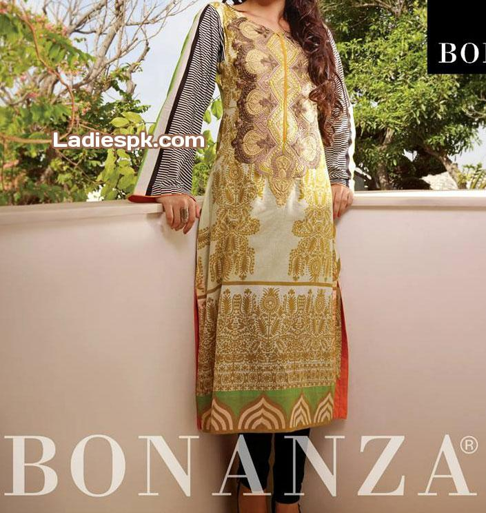 Bonanza-Eid-Collection-Lawn-2013-for-Women-trendy-shalwar-trousers-for-Girls