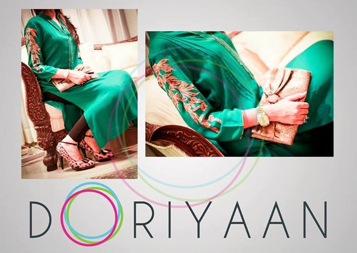 Doriyaan-Eid-Collection-2013-for-Women Green