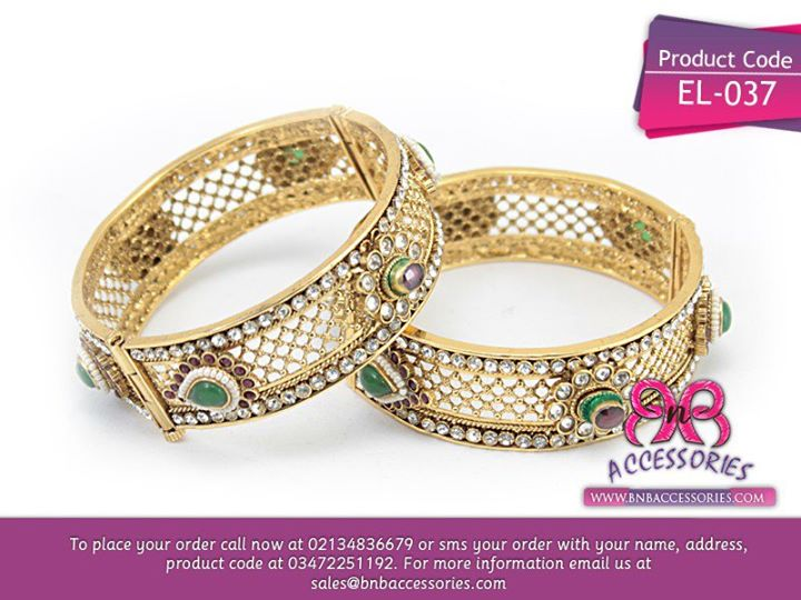 Eid 2013 women jewellery bangles indian origin polki bangles green