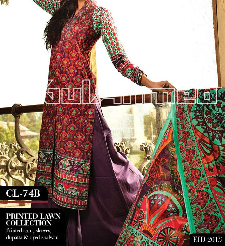 eid collection 2013 lawn