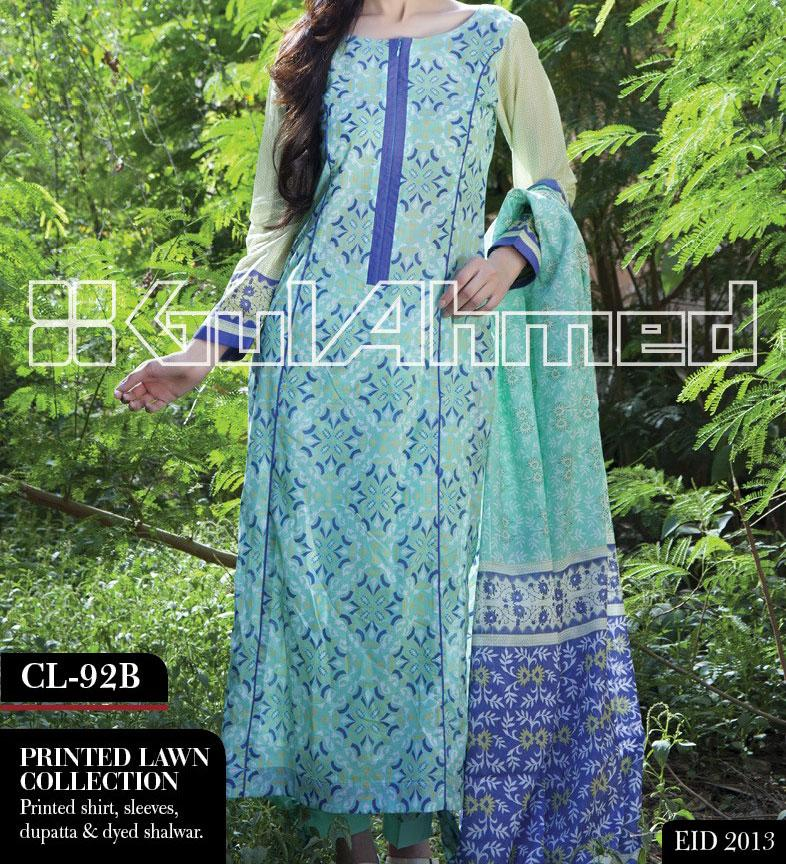 eid Dresses collection 2013 by gul ahmed