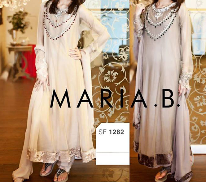 fancy maria b eid collection 2013 for girls and women Maria B Eid Collection 2013 for Women & Girls