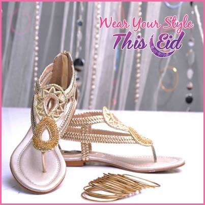 Fancy stylo shoes Eid collection 2013 for Women