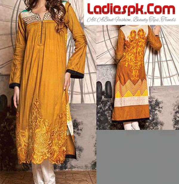 Firdous-Fashion-Eid-Dresses-2013 for Girls