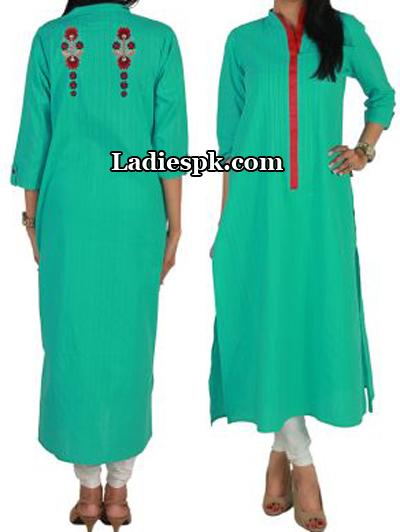 Green-Ego-DressesPakistan-Kurta-Kurtis-Eid-Collection-2013-Fashion