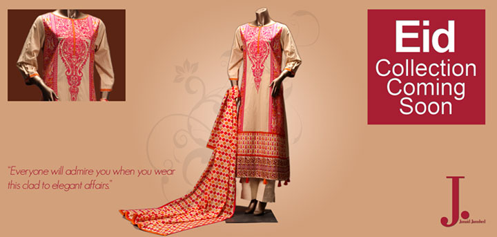 Junaid-Jamshed-Eid-Collection-2013 Lawn Prints For Women Girs