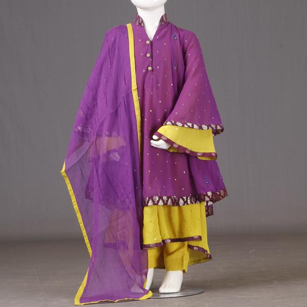 junaid jamshed kids eid collection 2013 for Little Girls Children Price 49