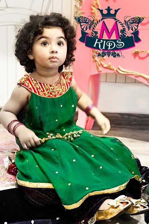 maria b kids eid collection 2013 little children girls Maria B Kids Eid Collection 2013: Children Dress Boys & Girls