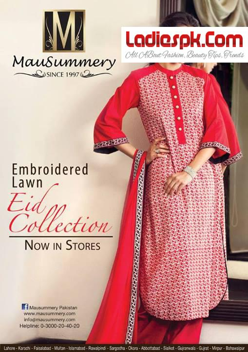 Mausummery-Embroidered-Lawn-EID-COLLECTION-2013