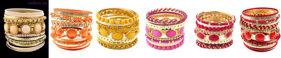 SK Collection Artificial Jewellery colourful bangles Eid 2013 Price  1100
