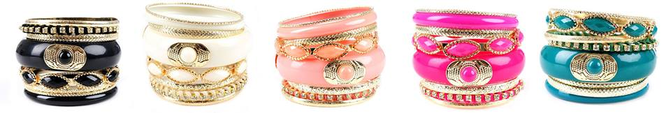 SK Collection Colourful Bangles Eid 2013 Fashion Design with Price 1200