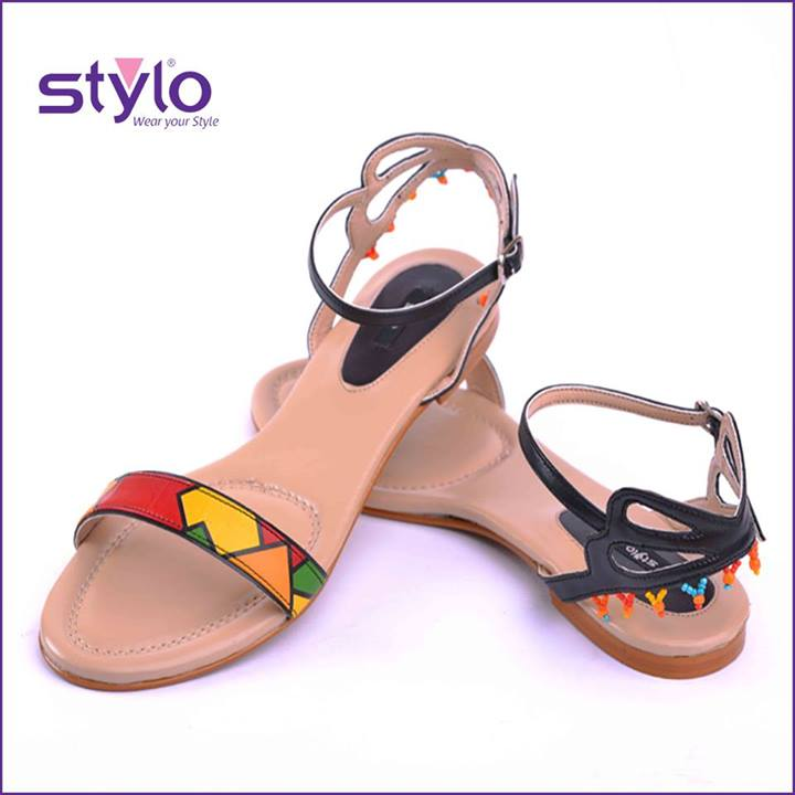 stylo shoes eid collection 2013 for women sandal Stylo Shoes Eid Collection 2013 for Women & Girls with Prices