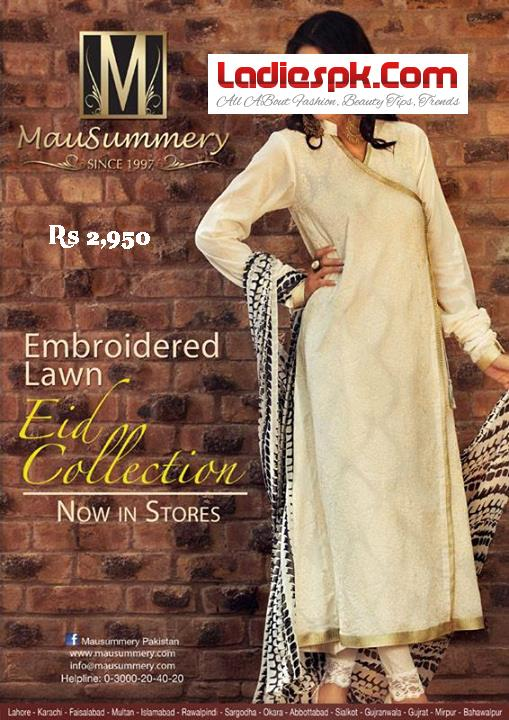 Summer-Mausummery-Lawn-Eid-COLLECTION-2950-Price-2013-for-Women