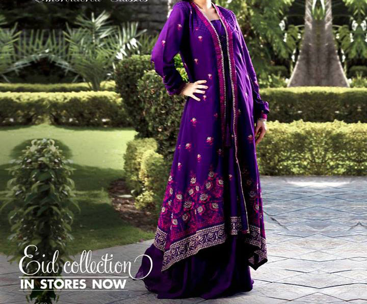 Bareeze-New-Eid-Collection-2013-for-Women-Girls-Purple