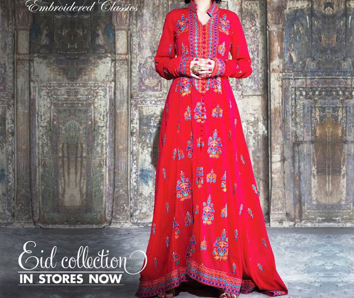 Bareeze-New-Eid-Collection-2013-for-Women-Red