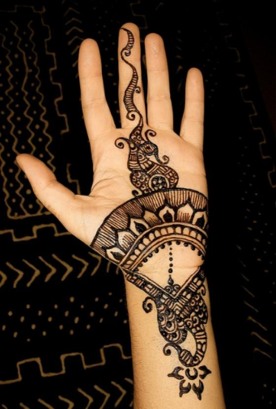 Simple Mehndi Patterns For Eid : Latest eid special simple henna mehndi designs for hands