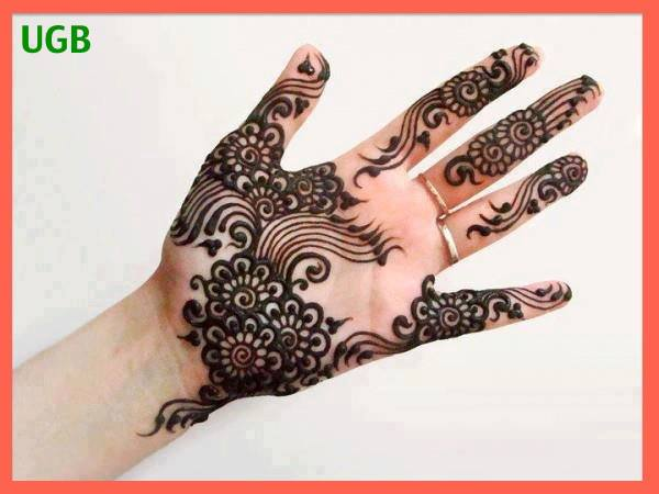 new arabic mehndi henna eid special mehndi designs 2013 hand for girls New Eid Chand Raat Special Mehndi Designs 2013 Hand for Girls