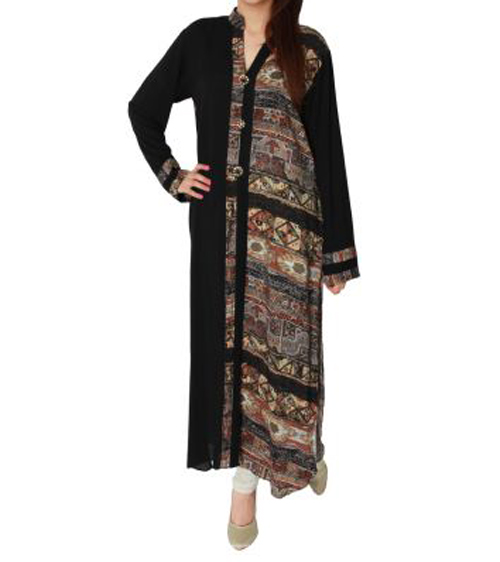 Side Printed Kurta Collection 2013 for Girls Women.