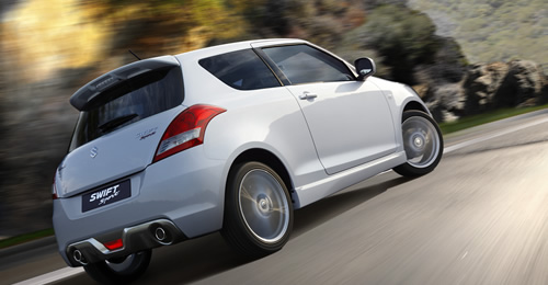 Suzuki Swift Sport Back