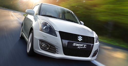 Suzuki Swift Sport Front