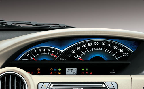 Toyota Etios Liva Speedometer