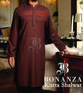 bonanza kurta shalwar 2013 winter collection for Men and Boys Gents